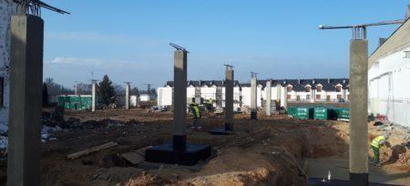 Rozpoczęto prace budowlane w Plewiskach