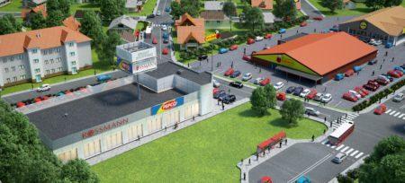 Otwarcie parku handlowego w Baninie