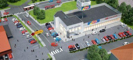 Rozpoczęcie budowy parku handlowego w Baninie