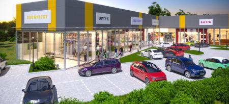 Wkrótce otwarcie parku handlowego w Konstancinie