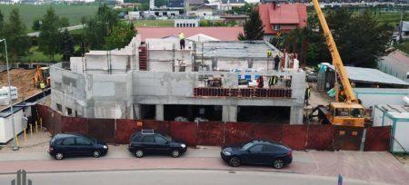 Szybki postęp prac budowlanych w Baninie